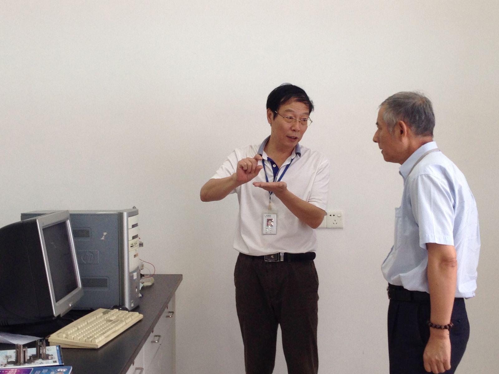 深圳市线路板行业协会会长到我司参观访问